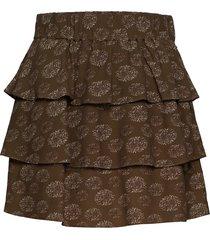 ariana mini skirt kort kjol grön mayla stockholm