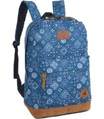 mochila de costa up4you azul ms45440up