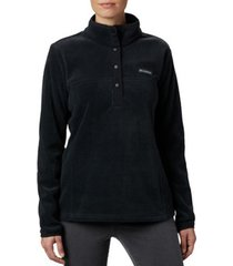 fleece jack columbia benton springs 1/2 snap pullover