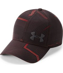 gorra under armour airvent core-gris oscuro