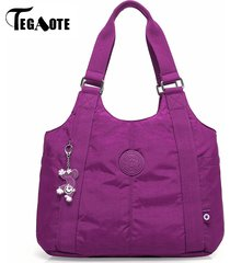 tegaote-top-handle-bag-shoulder-luxury-handbags-women-bags-designer-nylon-beach-