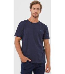 camiseta colombo logo azul-marinho - azul marinho - masculino - algodã£o - dafiti