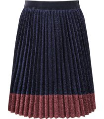 little marc jacobs blue and pink lurex girl skirt