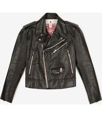 biker jacket black 50
