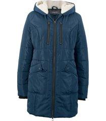 giaccone con cappuccio foderato (blu) - bpc bonprix collection