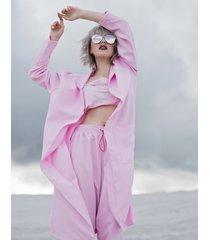płaszcz pink longline