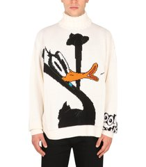 gcds tall neck sweater