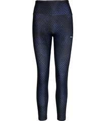 flattering stripe tights running/training tights blå röhnisch