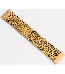 miranda thick wrap leopard bracelet - leopard