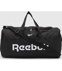 bolso negro reebok act core ll m grip