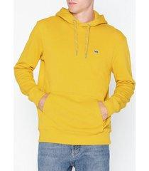 lee jeans hoodie sws tröjor gul