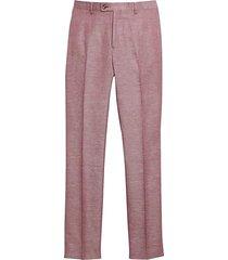 paisley & gray men's slim fit suit separates pants rosewood - size: 28