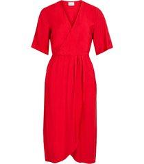 klänning vikri 3/4 wrap dress