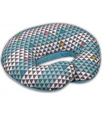 poduszka do karmienia bawełniane trójkąty + milutki welur