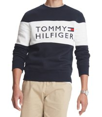 tommy hilfiger men's big & tall stellar logo sweatshirt, created for macy's