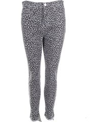 current/elliott jeans the super high waist stiletto dierenprint