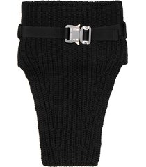 1017 alyx 9sm knit neck warmer with buckle