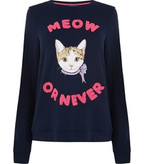 meow or never-sweater