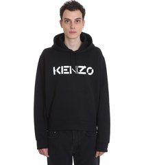 kenzo sweatshirt in black cotton