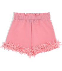 monnalisa fringed shorts