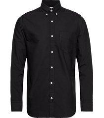 levon bd 5142 overhemd casual zwart nn07