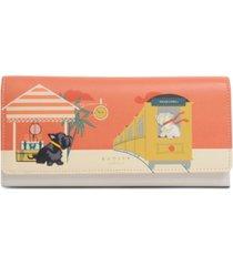 radley london all aboard large leather wallet