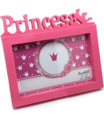 porta retrato princesa 15cm x 10cm l3 store - rosa