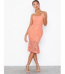 nly eve lace frill corset dress fodralklänningar