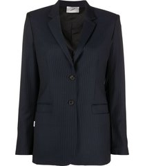 coperni straight-fit blazer - blue