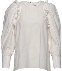 top passion blouse lange mouwen crème ba&sh
