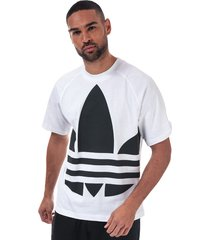 mens big trefoil boxy t-shirt