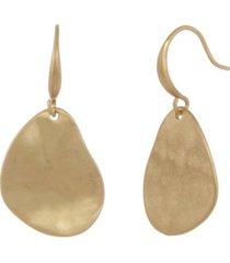 the sak gold-tone drop earrings