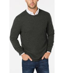 club room cashmere crew-neck sweater, created for macy's
