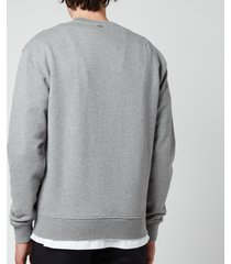 ami men's de coeur sweatshirt - heather grey - l