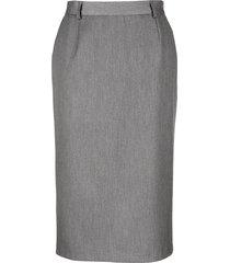 klassisk kjol m. collection grå