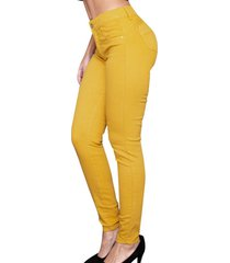 jeans mujer girasol amarillo best west jeans