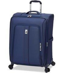 "london fog knightsbridge ii 25"" expandable spinner suitcase"