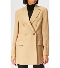 golden goose deluxe brand women's valerie jacket - almond - m - cream