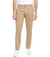 men's big & tall bonobos weekday warrior athletic stretch dress pants, size 40 x 36 - beige