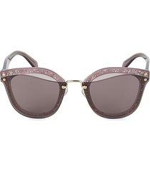 65mm oval sunglasses