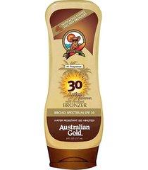 protetor e bronzeador australian gold kona coffee instant bronzer spf 30 237ml