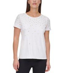 calvin klein studded t-shirt
