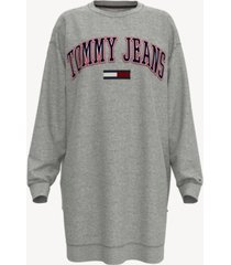 tommy hilfiger adaptive women's sweatshirt dress with magnetic closures