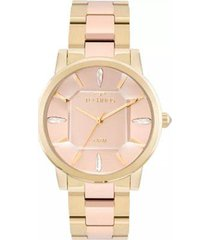 relógio feminino technos elegance crystal 2039bs/4