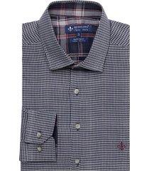camisa dudalina manga longa fio tinto xadrez masculina (xadrez 2, 6)