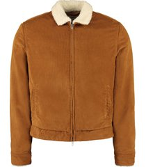levis corduroy puffer jacket