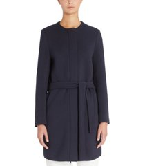 weekend max mara tie-belt coat