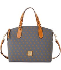 dooney & bourke blakely signature celeste satchel