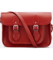 the cambridge satchel company women's 11 inch magnetic satchel - red