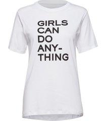 bella tee shirt coton t-shirts & tops short-sleeved vit zadig & voltaire